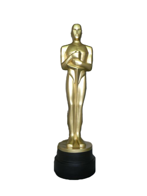 verkaufe oscar figur in lebensgr e oskar filmfigur 180cm gold. Black Bedroom Furniture Sets. Home Design Ideas