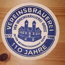 DDR VEB Vereinsbrauerei Greiz - Getränkekombinat Gera 110 Jahre