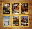 NATIONAL GEOGRAPHIC 6 Hefte, Samurai, Bibel, Orang-Utans, Libyen