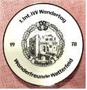 Wandertag Porzellan-Wandteller Wetterfeld bei Laubach / Gießen -