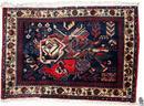 Orientteppich, Poschti, Afshari, alt (SO-Iran)