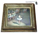 Pastell von Karl Stohner: Ballettunterricht, 1. Hälfte 20. Jh.