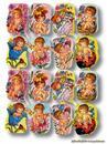Scrapbook Aufkleber Sticker: Babies mit Blüten, Katzen und Marien