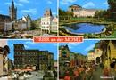 Trier an der Mosel - Hauptmarkt / Palais mit Basilika / Porta Nig