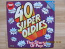 40 Super Oldies - The Story Of Pop