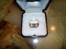 Exklusiver, hochwertiger und antiker Goldring mit echten Perlen