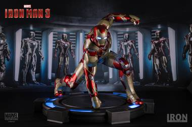 iron man mark xlii legacy - iron man 3: 1/4 iron studios