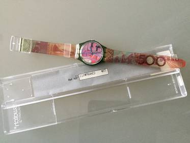 Original Swatch Herrenuhr Franko GG110