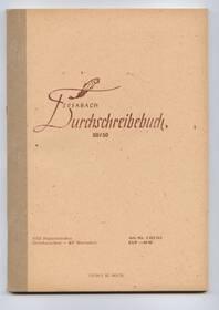 Durchschreibebuch A5 Sosabach DDR