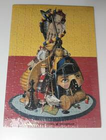 Spielzeugmuseum Nürnberg Puzzel Poster