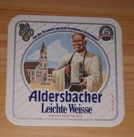 Abtei Weitzen Leichte Weisse Aldersbacher BD Bierdeckel
