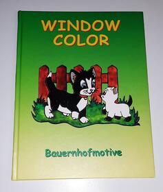 Window Color Bauernhofmotive Muster Vorlagen