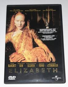Elizabeth (1998) DVD Cate Blanchett, Geoffrey Rush, Richard Atten