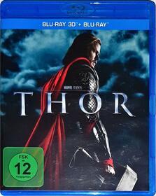 Thor Blu-ray 3D + 2D - Kenneth Branagh 2011