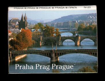 Leporello-Album Prag 1998 Souvenir Ansicht