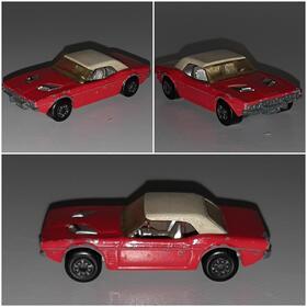 Matchbox 01C Dodge Challenger 1975 Oldtimer Modell Superfast