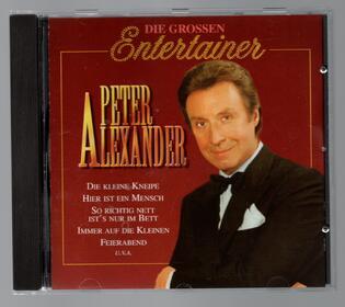 Peter Alexander - Meine Lieder CD Die grossen Entertainer