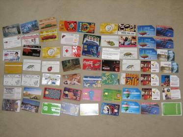 Telefonwertkarten