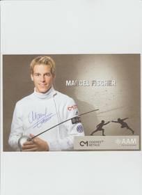 Autogramm Marcel Fischer, OL Sieger 2004