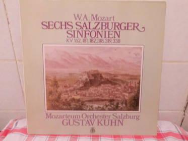 W. A. Mozart Sechs Salzburger Sinfonien