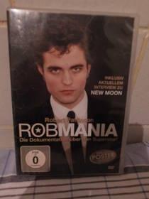 DVD Robert Pattinson - Robmania