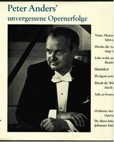 Peter Anders : Unvergessene Opernerfolge - Telefunken TW 30 054