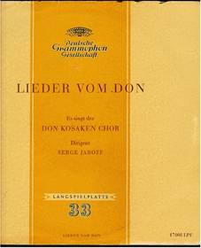 Lieder vom Don - Don Kosaken Chor / Serge Jaroff