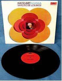 Waldo De Los Rios : Mozartmania - Polydor 2310 134
