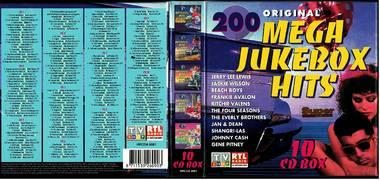 200 Original Mega Jukebox Hits - 10 CD Box