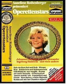 Anneliese Rothenberger präsentiert Operettenstars