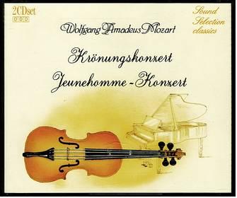Wolfgang Amadeus Mozart : Krönungskonzert / Jeunehomme-Konzert