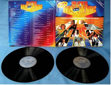 Doppel LP - Super Hit-News 1983 - K-Tel – TG 1477