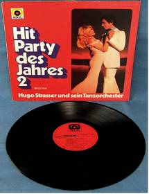 Hugo Strasser und sein Tanzorchester : Hit - Party des Jahres 2