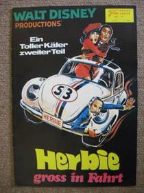 Filmprogramm - Herbie groß in Fahrt - (NFK 118) von 1974
