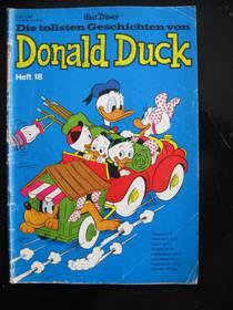 Die tollsten Geschichten von Donald Duck 18 von 1969 (1.Auflage)