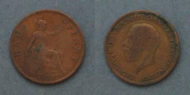 Half Penny - George V - GB von 1930