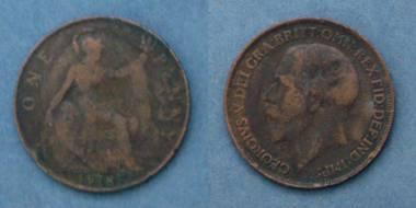 1 Penny - George V - GB von 1918