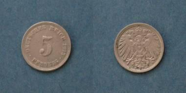 5 Pfennig (D) - Deutsches Reich von 1913