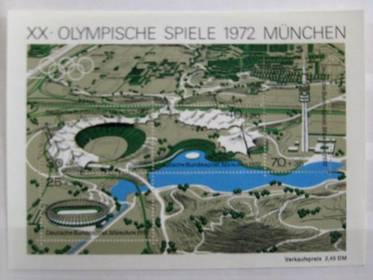 Briefmarkenblock 7 - Olympiade 1972