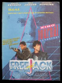 FreeJack (KinoJournal-Ffm) mit Rolling Stones -Sänger Mick Jagger