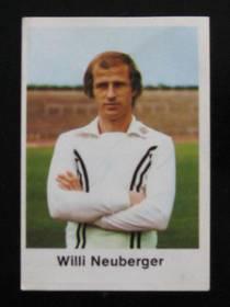 Willi Neuberger - Eintracht Frankfurt (Fussball 77/78)