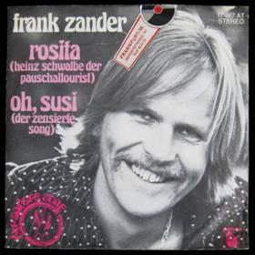 Frank Zander - Rosita / Oh, Susi (Der Zensierte Song)