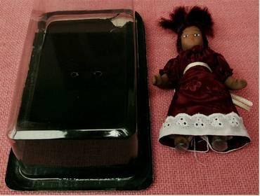 kleinere ältere Puppe aus Kunststoff - 1970er Jahre