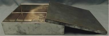 Weißblech-Schachtel von Delacre Nieppe 59 France Vilvoorde Belgie