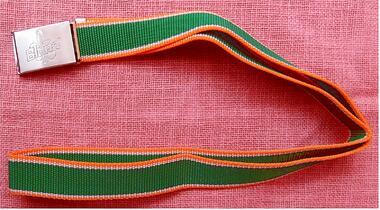 Schnallen-Gürtel aus Syntetik - Von Bluna - ca. 118 cm Umfang