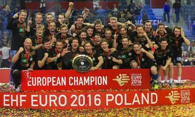 Handball EM 2016 Finale - Deutschland vs. Spanien