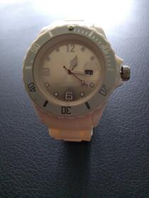Armbanduhr creme/weiß