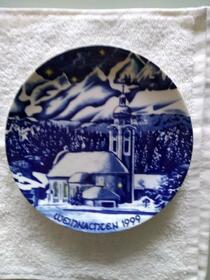 Jahresteller Weihnachtsteller Bavaria von 1999