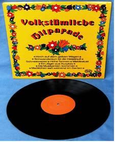 Volkstümliche Hitparade - Hallmark records SMLP 303
