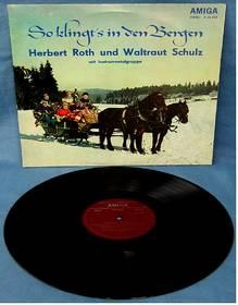 Herbert Roth und Waltraut Schulz ; So klingt's in den Bergen